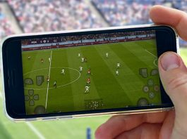 football on your cell phone